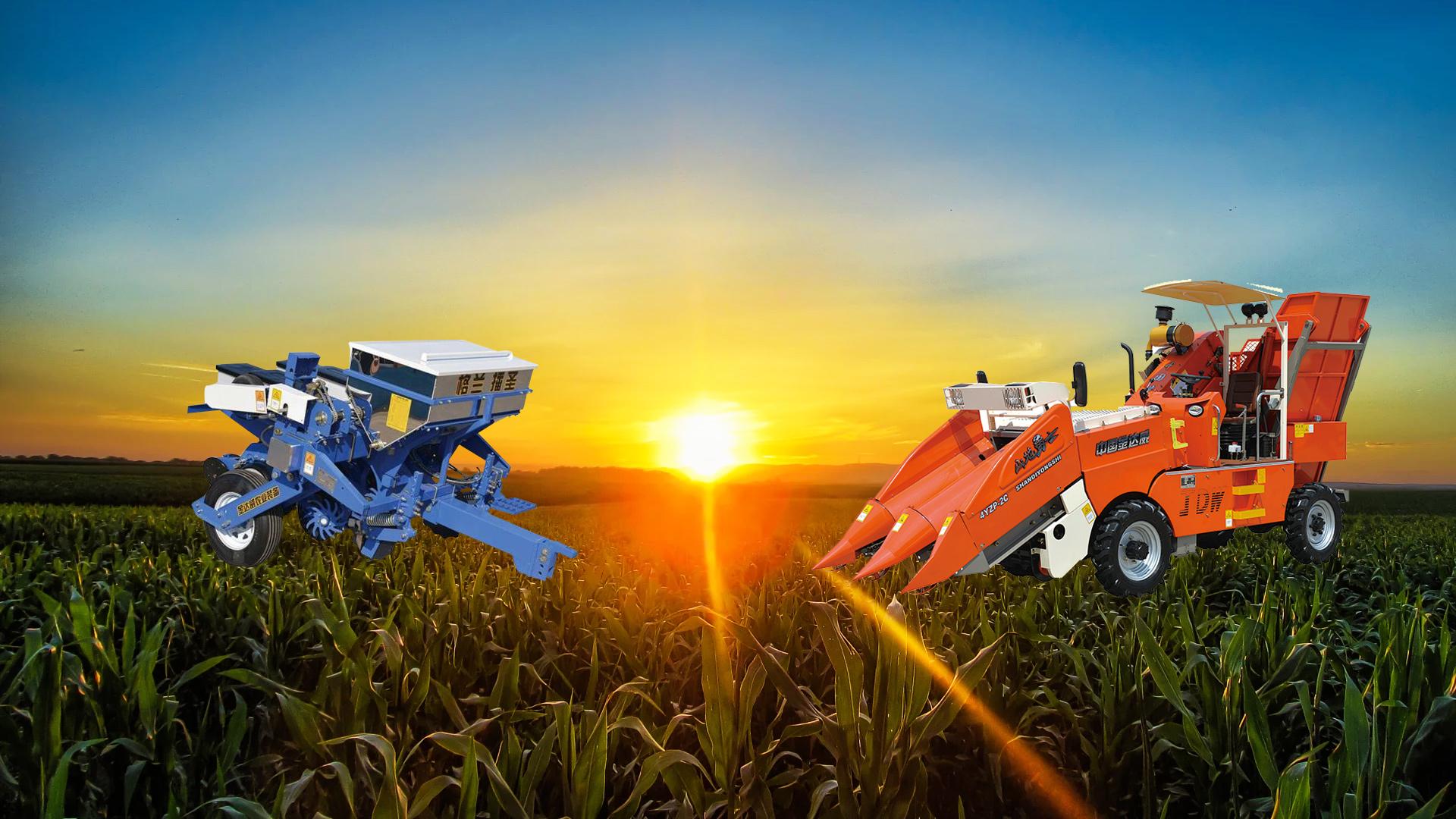 玉米收割机的使用要点具体说明