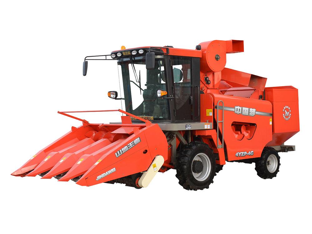 玉米收割机摘穗装置的部件作用具体说明
